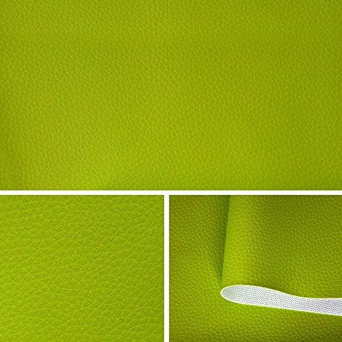 Kunstleder Leder PVC Möbel Sitzbezug Meterware Polster T073 15 Apfelgrün