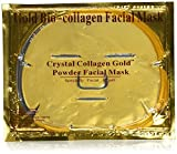 3PCS 24K Gold Gel Collagen Crystal Facial Masks Anti-Aging & Moisturizing,Reduces Dark Circles, Puffiness, Wrinkles (3PCS)