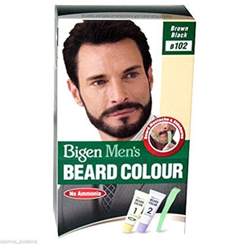Bigen B102 Coloración para Barba y Bigote, Negro Natural