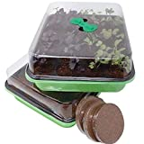 Window Garden 20 Cavity Seed Propagation Kits (2) – Complete with...