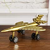 LBYLYH Skulpturen Figuren Statue Haushalt Dekobullet Shell Aircraft Crafts Souvenir Home Craft Geschenk