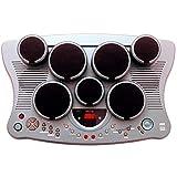 Ringway TD 78 – Almohadillas de tambor electrónico con 7 almohadillas y 2 almohadillas de pie (para hi-hat y Kick Drum)