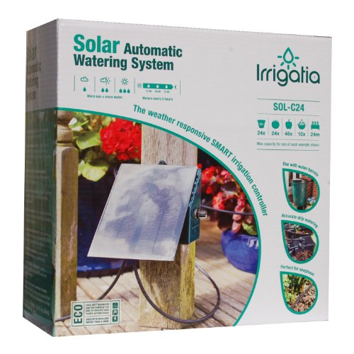 Irrigatia C24 Solar Automatic Watering System