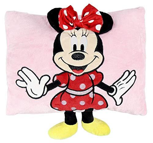 textil y complementos minnie Aplicaciones de Minnie. Referencia CD Cojines Textiles del hogar Unisex Adulto, Rosa, S/T
