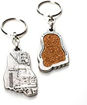 The-Story-Within Sale Jerusalem Holy Land Soil Embedded in an Authentic Key Ring The Holy Land Soil in Your Hands!| As Seen On TV One of A Kind Gift