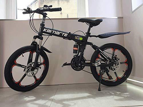 """20"""" Acero Al Carbono Plegable Bicicleta de Montaña 21 Velocidades TX3"""