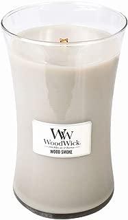 WoodWick Wood Smoke Large Hourglass Candle, 22 oz.