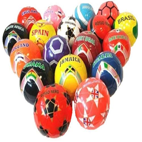TrAdE Shop Traesio- Pallone Palla Calcio Calcetto Misura 5 Football Allenamento Gara Lega Fantasie