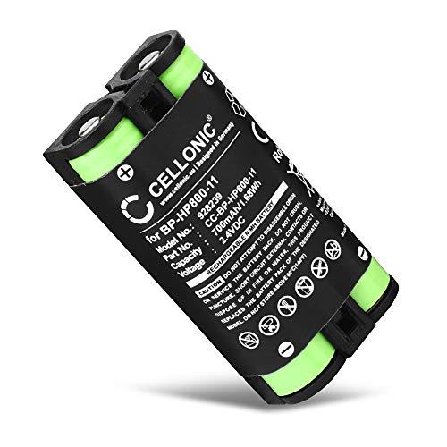 CELLONIC® Qualitäts Akku kompatibel mit Sony MDR-RF995, MDR-RF995RK, WH-RF400, BP-HP800-11 700mAh Ersatzakku Batterie