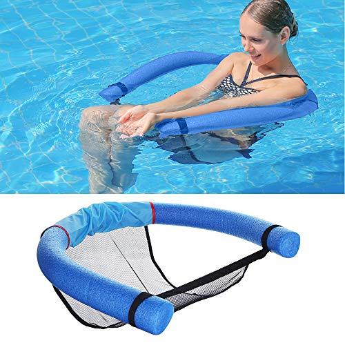 Uniguardian Schwimmender Schwimmstuhl Pool Schwimmender Nudelstuhl für Wassernetz U-Sitz Flexibler Tragbarer Pool Schwimmspielzeug Für Kinder Erwachsene Sommer