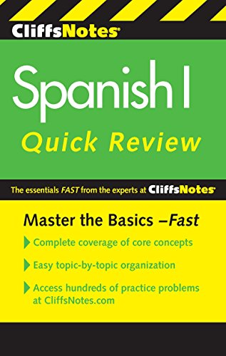 Download CliffsNotes Spanish I Quick Review, 2nd Edition (Cliffs Quick Review (Paperback)) (English Edition) B00C0JFVKI