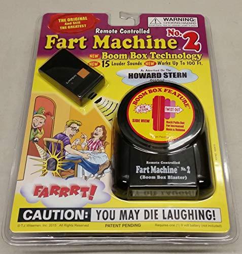 T.J. Wisemen Remote Controlled Fart Machine No. 2 - Single Pack