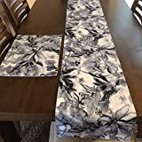 Elegant Table Runner with Placemats Set - 1 Runner 4 Placemats (5...