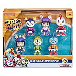 Welcome to Top Wing Academy join cadets Swift, Penny, Rod and Brody as they work together to become a full-feathered rescue Team Top Wing Collection pack includes six 3-Inch poseable figures; sized right for small hands An instant collection of kids'...