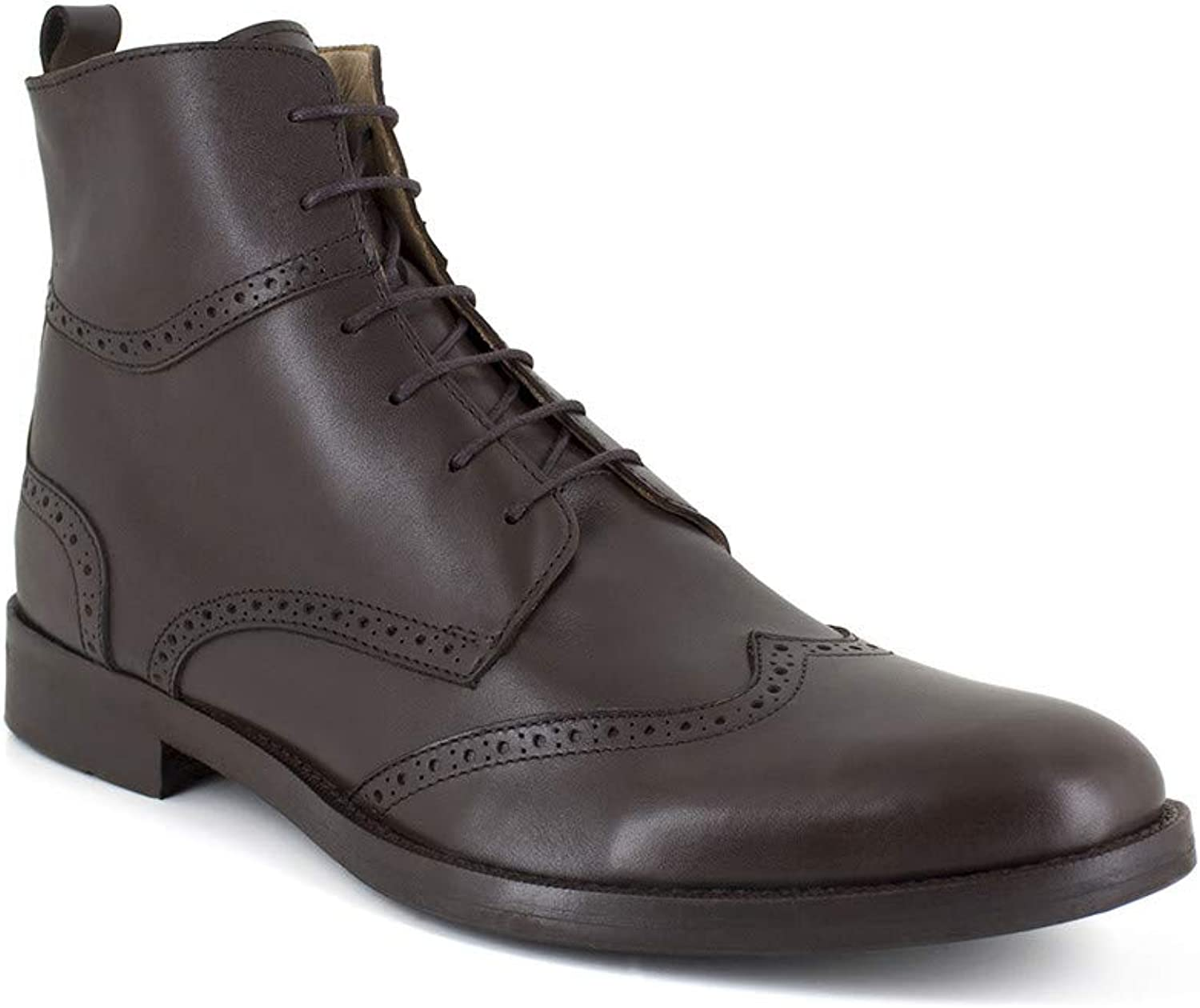 J.Bradford Low Boots Brown Leather JB-Hector