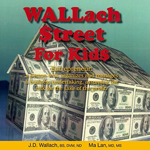 Wallach Street for Kids audiobook cover art