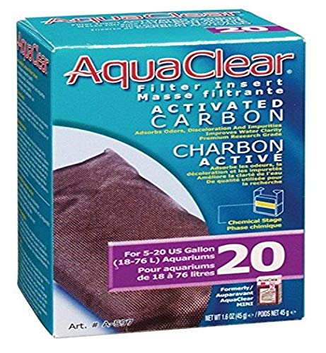 Hagen AquaClear Filter Insert Activated Carbon MINI/20
