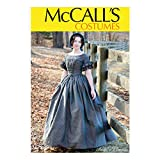 McCall Pattern Company McCall's Women's Victorian Dress Costume Sewing Pattern by Angela Clayton, Sizes 14-22, various