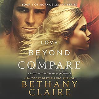 Love Beyond Compare audiobook cover art