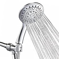 ANZA Shower Head With Handheld and 6 Spray Settings