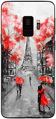 Samsung Galaxy S9 Case,Blingy's New Scenic Painting Soft TPU Protective Case Compatible for Samsung Galaxy S9 (Paris)