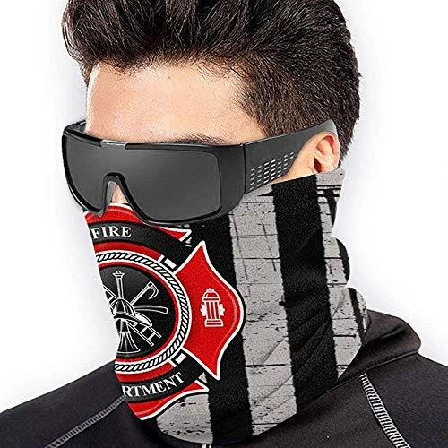 Randy-Shop Feuerwehr Unisex Fleece Halswärmer Gesichtsmaske Halsrohr Gamaschen