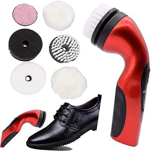 Polador de limpieza eléctrica portátil Portero automático de zapatos eléctricos Polador de...