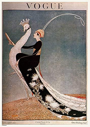 onthewall -   Vintage Vogue Cover
