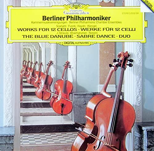 Werke für 12 Celli. Berliner Philharmoniker. Digital Stereo