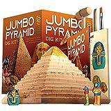 Dr. Daz Juego de excavación de Egipto para niños – Juego de experimentación grande pirámide juego para niños a partir de 4 5 6 7 8 9 10 años