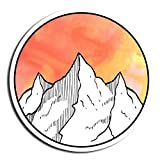 Mountain Sticker Nature Stickers Waterbottle Sticker Tumblr Stickers Laptop Stickers Vinyl Stickers