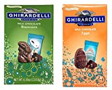 Ghirardelli Chocolate Easter Candies, Milk Chocolate Eggs and Bunnies, 2 Pack, 4.1 ounces