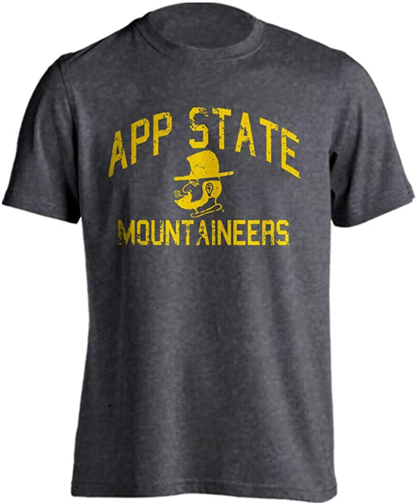 Appalachian State Mountaineers Retro Distressed Short Sleeve T-Shirt