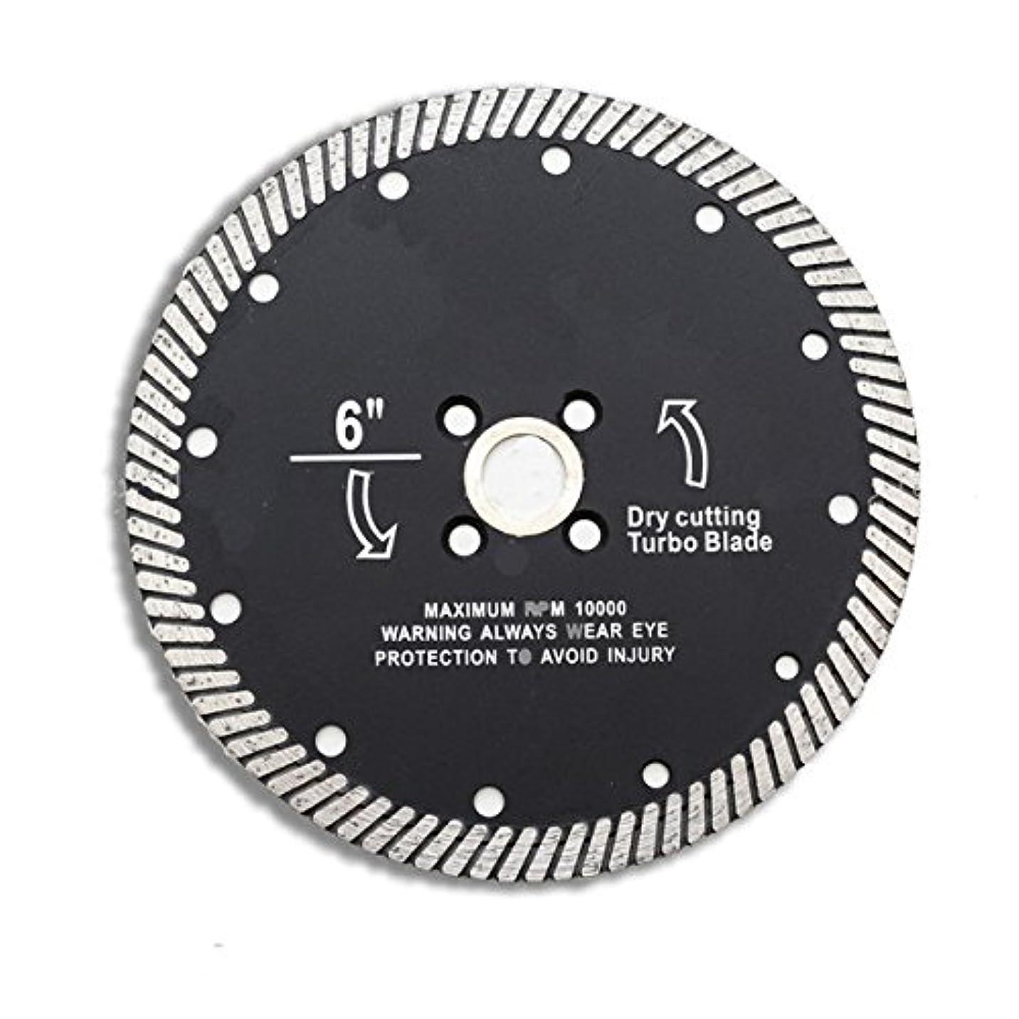 望ましい器用ごみWchaoen 6インチの極度の薄いダイヤモンドは陶磁器の磁器の大理石の切断のための鋸歯ディスクを ハードウェア部品