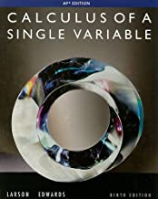 By Ron Larson Calculus of a Single Variable, 9th Edition (9th Ninth Edition) [Hardcover]