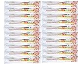 Einweg-zahnbürste, 20 Einweg-zahnpasta-zahnbürsten, Einzeln Verpackt Für Hotel-sanitäranlagen, Camping-reisewaschmittel Usw. (20 Stück)