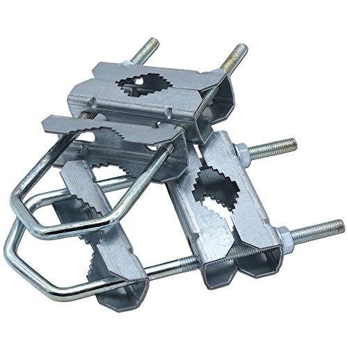 Abrazadera doble 18HQ para mástil - accesorios soporte para