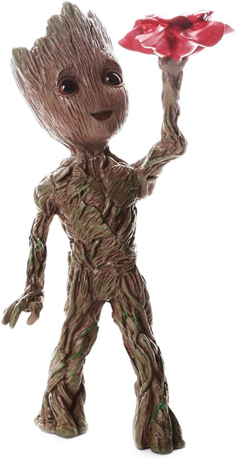 BJL—Teddy Groot Marvel Super Heroes The Avengers members of the Guardians of the Galaxy ( color    7 )