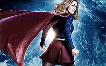 TianSW Supergirl Season 4 (22inch x 14inch/56cm x 35cm) Waterproof Poster No Fading