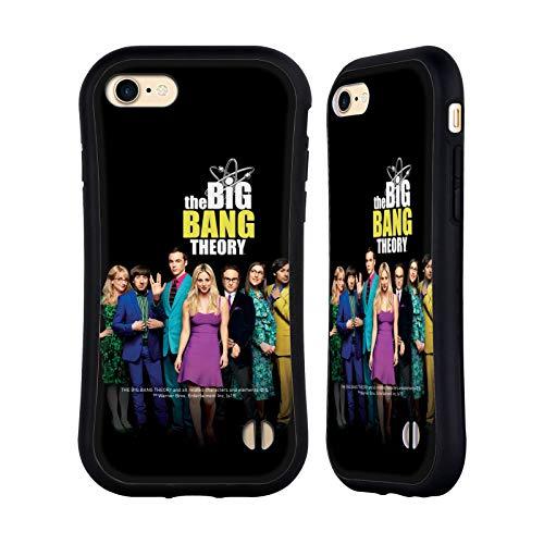 Head Case Designs Oficial The Big Bang Theory Season 11 B Key Art Carcasa híbrida Compatible con Apple iPhone 7 / iPhone 8 / iPhone SE 2020
