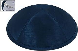 e64872491f5 Zion Judaica Deluxe Raw Silk Kippot Single Bulk Optional Custom Imprinting  for Any Event