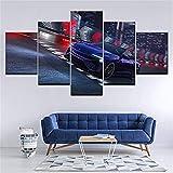 Quadro modulare su Tela Wall Art 5 pannelli BMW car 8 Serie Poster stampati soggiorno decorazione Della casa sin marco