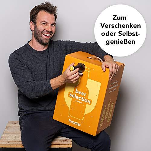 Foodist Premium Craft Beer Adventskalender 2020 - Internationale Biere als Geschenk-Set mit ausgefallenen Biersorten aus der ganzen Welt inkl. Tasting-und Rezeptbuch für Erwachsene (24 x 0.33l) - 4