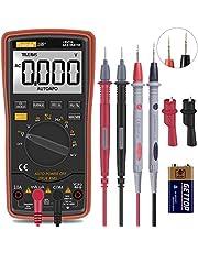 Digitale multimeter met automatische bereikkeuze - verlichte teller multitester voltage tester automatisch omschakelende elektronische meter (18B)