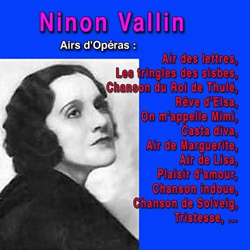 Ninon Vallin