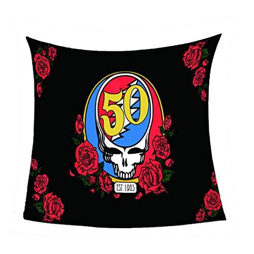 GNMDC dekens van flanel, creatief tapijt Skull, dekens van microvezel, polyester, bedden, sofas, stoelen, huishoudtextiel
