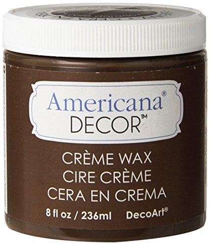 Deco Art ADM8-07-36 Americana Decor Creme Wax, 8-Ounce, Deep Brown
