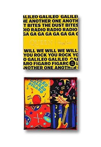 Happy Socks Geschenkbox QUEEN 4-PACK GIFT BOX XQUE09-0100 Mehrfarbig, Size:41-46
