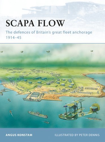Scapa Flow: The defences of Britain's great fleet anchorage 1914–45 (Fortress Book 85) (English Edition)