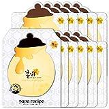 Papa Recipe, maschera Bombee sbiancante al miele per la cura del viso, confezione da 10fogli
